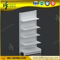 Buy cheap Cheap metal gondola shelving export to mexico for convenience store/ MDF display from wholesalers