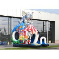 Buy cheap Elephant Disco Inflatable Bouncer Fun Circus Outdoor Bounce House For Kids from wholesalers