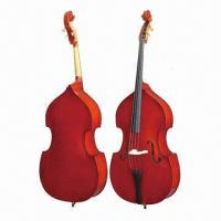 Buy cheap Double Bass String Instrument with Whole Pegs, Gold-plated from wholesalers