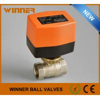 Buy cheap Solar Energy System Electric Water Ball Valve , 2 Way Motorised Valve Full Bore from wholesalers