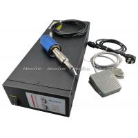 Buy cheap Small Hand Held Ultrasonic Plastic Cutting Machine Titanium Alloy Blade from wholesalers