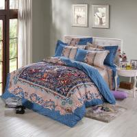 Buy cheap Colorful 6 Piece Cotton Bedding Sets , Romantic Kids Bedroom Bedding Sets from wholesalers