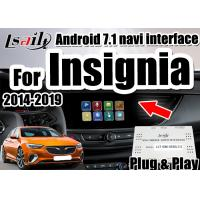 Buy cheap 1.6G Basic Frequency Full Plug Installation Android Auto Interface  For Opel support android gps navigation , google map from wholesalers