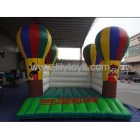 Buy cheap PVC balloon Commercial Inflatable Bouncers / inflatable moonwalk for rent from wholesalers