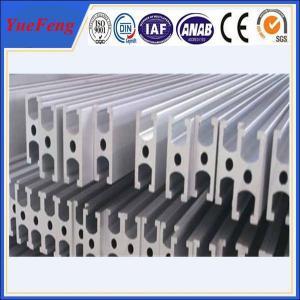 China aluminum profile section producting line pressing t slot aluminium extrusion on sale