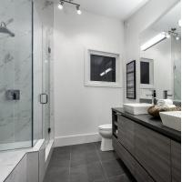 Buy cheap high quality small self-cleaning glass shower enclosure type for villa hotel from wholesalers
