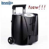 Buy cheap 7LPM Lovego Medical portable oxygen concentrator LG103 for oxygen therapy/COPD/pulmonary disease/7 hours battery/90-96% from wholesalers
