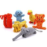 Wholesale wholesale China cotton rope dog toy animal from china suppliers