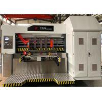 Buy cheap Carton Box Automatic Feeder Doctor Blade Ceramic Roller Flexo Printer Slotter product
