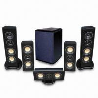 Buy cheap 5.1-channel Active Home Cinema Speaker System with 50W Nominal Power from wholesalers