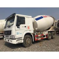 Buy cheap HOWO Brand Used Concrete Mixer Truck 340hp Rated Power For Construction from wholesalers