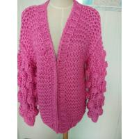 Buy cheap Hand Knit Cardigan, Handmade Sweater, Handcrafted Pullover from wholesalers