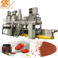Buy cheap Pet Fish Feed Extruder Machine Production Line , Dog Food Extrusion Machine from wholesalers