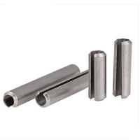 Buy cheap DIN 7346 Slotted Spring Pin 3mm 12mm ASME Silver Cylinder Roll from wholesalers