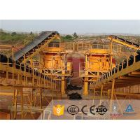 Buy cheap Stone Cone Industrial Crusher Machine Rock Crushing Plant High Capacity from wholesalers