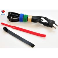 Buy cheap Uv Resistant Reusable Hook Loop Cable Ties 300Mm ,  One Wrap Cable Ties from wholesalers