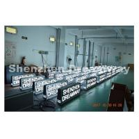 Buy cheap 300 W P5 SMD2727 Taxi LED Display 4G Control GPS Location 5500 Nits from wholesalers