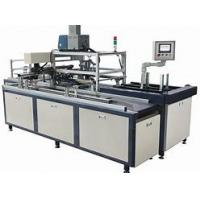 Buy cheap Powerful Box Assembly Machine , Custom Box Machine 25pcs/min Speed from wholesalers