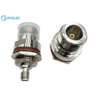 Buy cheap N Female With Nut Fixed To SMA Female With Waterproof Aluminum RF Connector from wholesalers