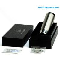 Wholesale newest and luxury mod ecig mod 26650 ecig vaporizer nemesis mod new e-cig 2014 Manufactures