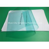 Buy cheap 0.14mm/140 Micron Green PVC Binding Covers 210×297 MM For Books / Documents from wholesalers