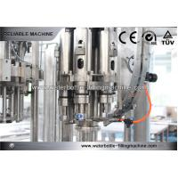 Buy cheap Milk / Tea / Water Filler Machine Semi Automatic 3 In 1 CSD Filling Line from wholesalers