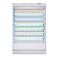 Buy cheap Supermarket Multideck Open Drink Fridge / Milk Display Chiller from wholesalers
