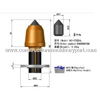 Surface Mining Bits Asphalt Milling Teeth Tungsten Carbide With Wirtgen Manufactures
