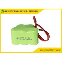 Buy cheap 6V battery NIMH Battery Pack Nickel Metal Hydride Battery 1.2V Size 2/3A 1200mah from wholesalers