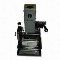 Buy cheap Manual Gilding Press with 15W Motor Power and 2.5T Gilding Pressure from wholesalers