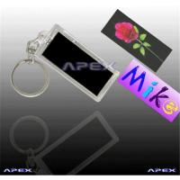 Buy cheap Solar Keychains (Photo Insertable) from wholesalers