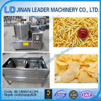 Buy cheap Small scale potato chips making machine french fries machine Continuous Deep Fryer from wholesalers
