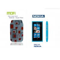Buy cheap Super Fiber Mofi Custom Designs Laser Logo Nokia Phone Cases Pouch With Ultrasonic Welding from wholesalers