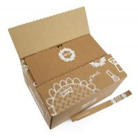 Wholesale Custom Printed Corrugated Shipping Boxes , Durable Fruit Packaging Boxes from china suppliers