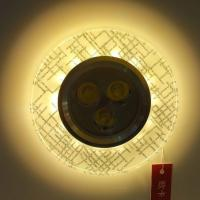 Buy cheap home decorative glass downlight with led strip high power light source 3w Epistar chip from wholesalers
