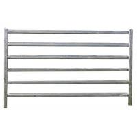 Buy cheap 1.8M X 2.1M Cattle yard panels hot dipped galvanized 14 microns silver painted from wholesalers