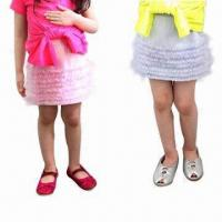 Buy cheap 100% Cotton Girls' Skirt for 2 to 6 Years Old, Fashionable and Comfortable, OEM Orders are Welcome from wholesalers