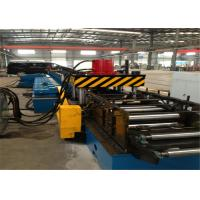 PLC Control Cable Tray Roll Forming Machine , Mild Steel Cold Rolled Forming Machines