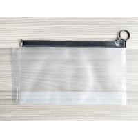 Buy cheap Plastic Reusable Ziplock Bags , Frosted PVC Slider Bags With Ring Puller Easy To Open product