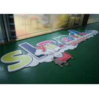 Buy cheap Light Weight Custom PVC Signs Plastic Advertising Signs UV Printed from wholesalers