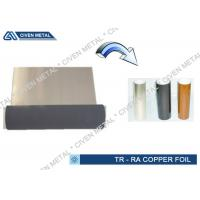 0.018mm * 520mm Single RA Copper Foil / Cu Foil Roll For FCCL With Japanese Technology