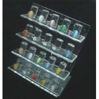 Buy cheap Clear acrylic 20 ring organizer display holder showcase from wholesalers