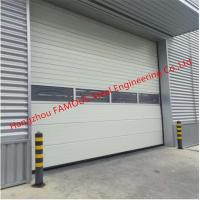 Buy cheap PU Foaming Automatic Handle Industrial Garage Doors EPS Sandwich Panel Lifting Door For Workshop from wholesalers