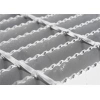 Buy cheap Round Bar Custom Stainless Steel Grill Grates , Anti Rust Open Mesh Flooring from wholesalers