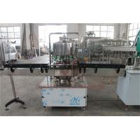 Buy cheap 500 - 1000 BPH CSD Beverage Filling And Capping Machine For Plastic Bottle Water Juice from wholesalers