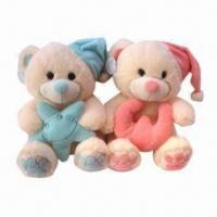 Cute Teddy Bears, Made of Soft Velboa, Available in Various Sizes and Designs, EN71/CE Certified Manufactures