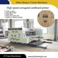 Buy cheap High Speed Carton Box Printing Machine , Digital Flexo Printing Machine from wholesalers