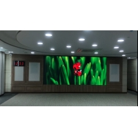 Buy cheap ICN2153 P2 SMD1515 indoor LED Signs 1000nits Seamless LED Video Wall For TV Station from wholesalers