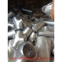 Buy cheap ANSI B 16.9 ASTM A234WPB butt welding EQUAL TEE from wholesalers