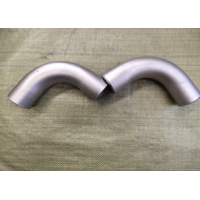Buy cheap SCH10 6D 44'' ANSI B16.9 Pipe Fittings Bends , Stainless Steel Pipe Bends from wholesalers
